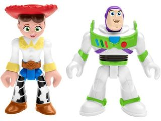 Fisher Price Imaginext Disney Pixar Toy Story 4 Buzz lightyear And Jessie