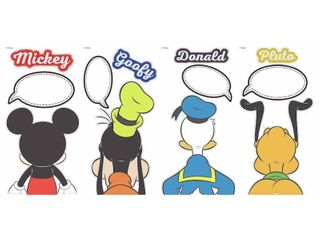 Mickey And Friends Peel And Stick Wall Decals With Dry Erase