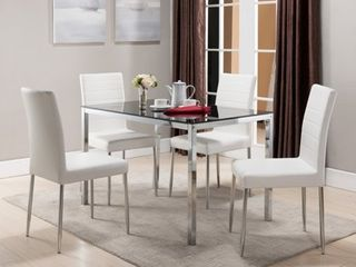 K   B Furniture Belmont 5 Piece Dining Set