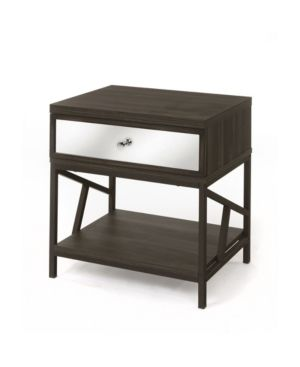 Nightstand  Walnut  One Size  Retail 109 49