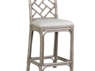 East At Main Stacie Rattan Barstool   Retail 379 99