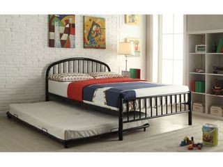 Cailyn Black Metal Twin Bed  Retail 197 99