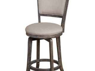 Simple living French Country 22 inch Counter Height Swivel Bar Stool  Retail 134 47