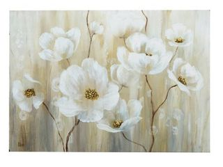 Shimmering Blossoms Canvas Wall Art  Retail 126 99