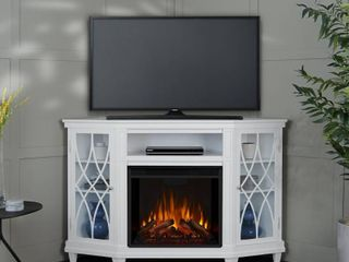 lynette Media Electric Fireplace