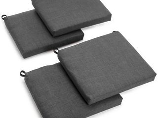 Blazing Needles 20 inch Indoor Outdoor Chair Cushion  Set of 4  Retail 98 99