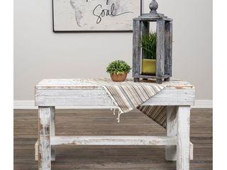 Handmade Del Hutson Designs Barnwood Bench