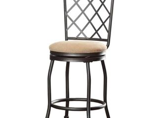 Tristan Swivel Bar Stool with Cushion  Retail 77 48