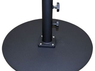 Tropishade Steel Umbrella Base  Black   50 lbs  Retail 119 99