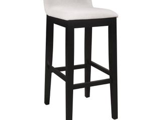 Hillsdale Furniture Maydena Stool  Black  Retail 105 99