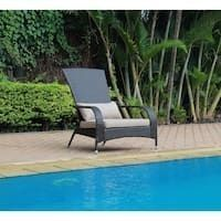 Pentana Resin Wicker Outdoor lounge Chair with Cushions  Retail 146 99
