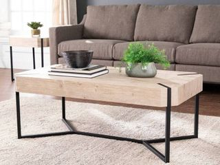 The Gray Barn Tierney Modern Farmhouse Cocktail Table  Retail 167 99