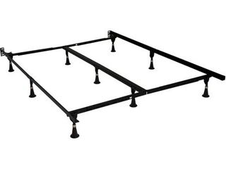 Beautyrest Studio 7 5  low Profile Adjustable Steel Bed Frame  Easy No Tools Assembly  Multiple Sizes
