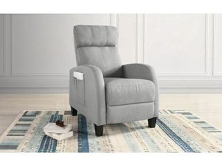 Plush Small Space Manual Recliner Chair with High Density Foam  Retail 211 99