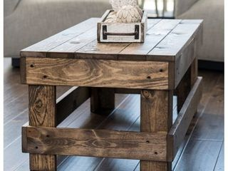 landmark Pine Wood Coffee Table  Retail 139 49