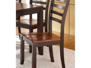 Copper Grove Jeanette Acacia 40 inch Dining Chairs  Set of 2  Retail 162 49