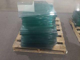 Tempered glass shelves various sizes
