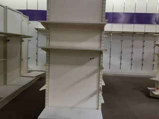 free standing display 3 shelves and brackets