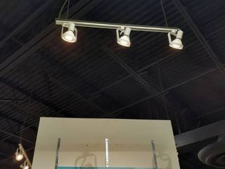 4 ft track light with 3 lED Fixtures