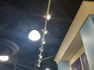 16ft lED Tracklight with 8 lED Spotlight Fixtures