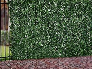 Windscreen4less   Decorative fence made of artificial ivy leaves   6  x 14
