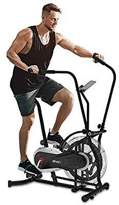 Ativafit   Exercise bike with air resistance system  gray color
