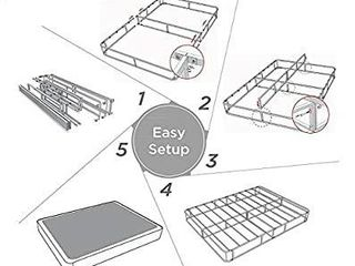 Zinus 7 Inch Smart Box Spring Twin   Mattress Foundation   Strong Steel Structure