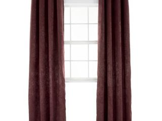 Windsor Home Mila 84 Inch Blackout Curtain Panel   54 Inches Wide by 84 Inches long