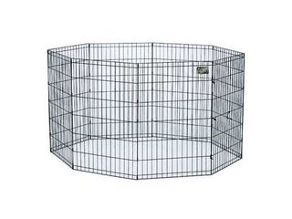 Midwest Exercise Pen  30 Inch  Black