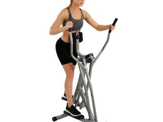 Sunny Health   Fitness SF E902 Air Walk Trainer Elliptical Machine Glider    MISSING THE lCD MONITOR AND 3 OF THE TRACTION END CAPS