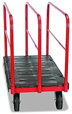 Rubbermaid Commercial FG446800BlA Sheet   Panel Truck  2000 Pound Capacity