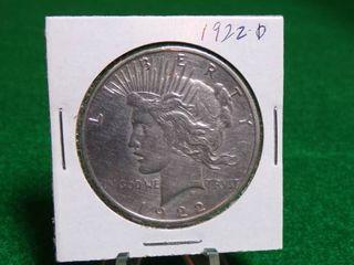 1922 D PEACE DOllAR