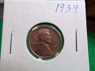 1934 WHEAT PENNY