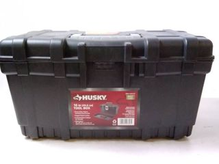 Husky 16  Black Toolbox missing latch