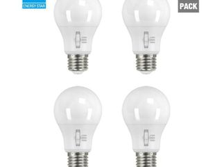 EcoSmart 60 Watt Equivalent A19 Dimmable lED light Bulb  Selectable CCT  2Pack