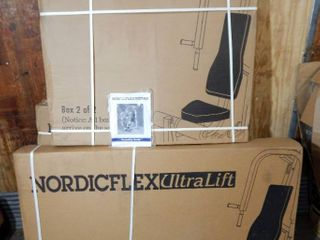 NordicTrack NordicFlex Ultra Lift - Box Damage - SEE ALL PHOTOS