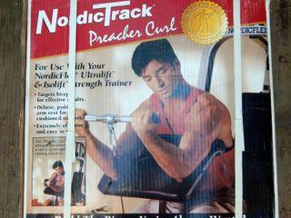 NordicTrack Preacher Curl