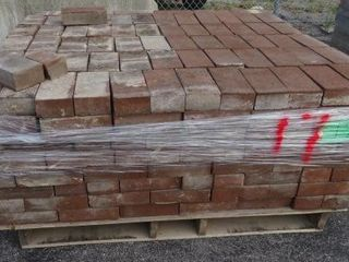 Skid Of 8x4 Bricks