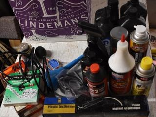 Box of Misc. Power Steering & Other Automotive