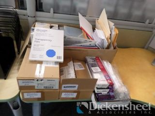 Transparency Film , Laser Tags, Folders lot as