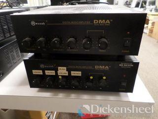 (2) Muzak DMA Digital Music Amplifiers. One bid