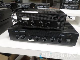 (2) Muzak Model 3000 Integrated Amplifiers,