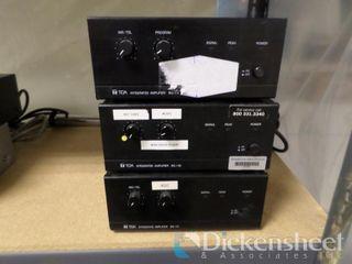 (2) TOA Model BB-115, Tia Model BB-130 Integrated