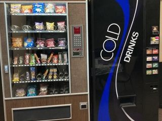 Cold Drink Machine, Snack Machine. These Are Not