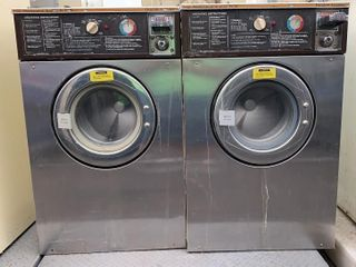 2 Wascomat Junior W74 Double Load Washers