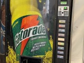 Dixie Narco Soft Drink Vending Machine