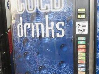 Unknown Maker Soft Drink Vending Machine