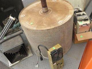 Skid Condenser Unit, Coin Dispensers, Dryer Drum,