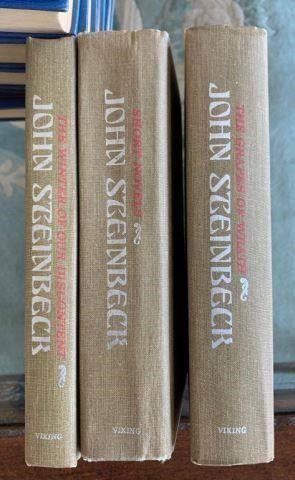 John Steinbeck 3 Book Set