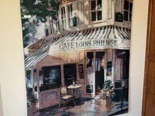 Large Tapestry - Café Louis Phillipe Paris